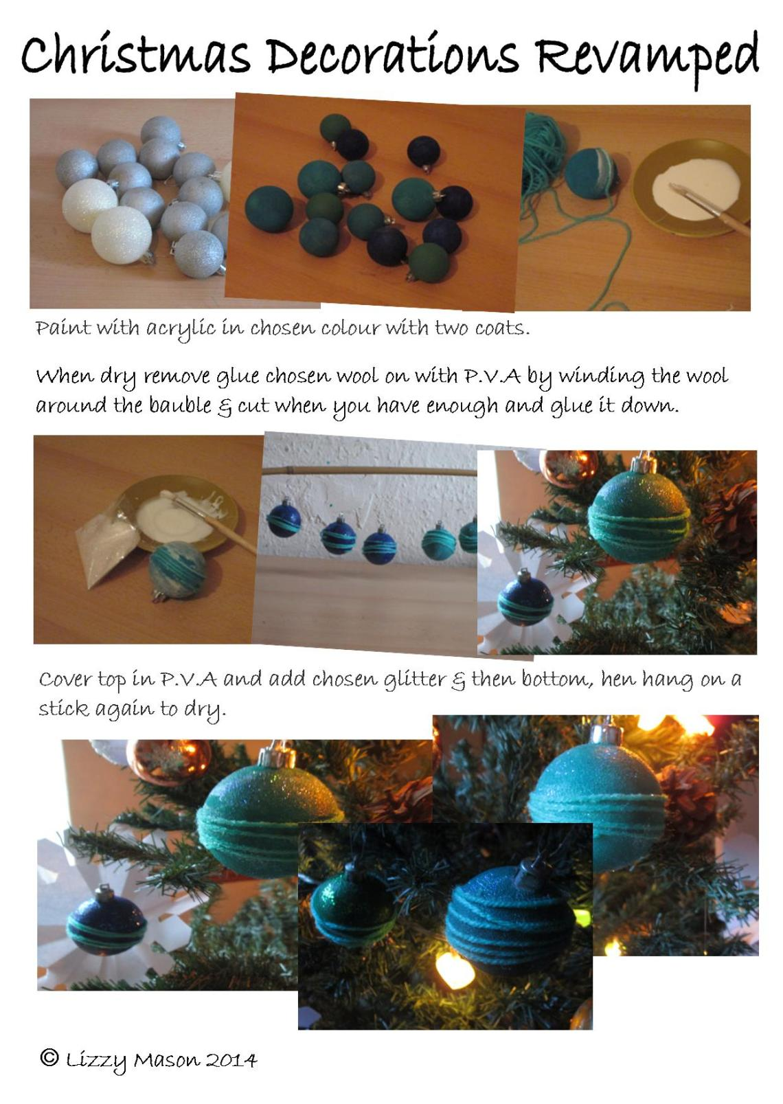 Christmas Decorations Revamped 1