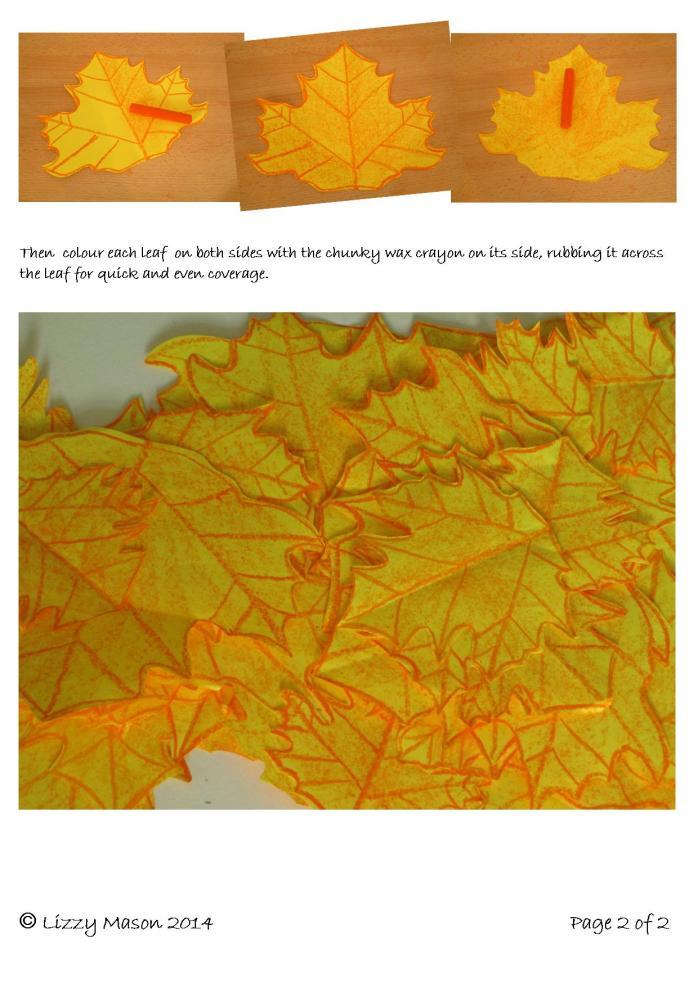 Hand drawn paper autunm leafs