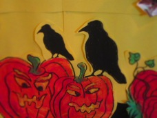 Crow on punkins