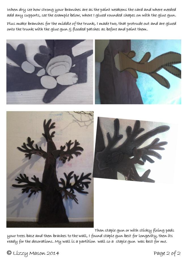 Wall tree part 2 how to