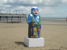 Day out with baron and the BBC Lincolnshire radio team at skegness, Lincolnshire, and it was sunny and blowy on a late spring day out.