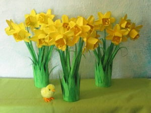 Repeat for a host of paper daffodils... Happy Spring Blessings xxx