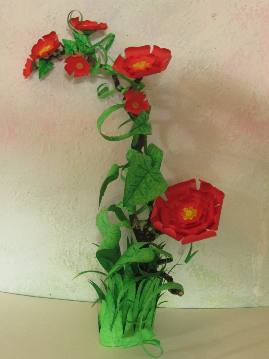 Jungle flower power plant for you party or home.