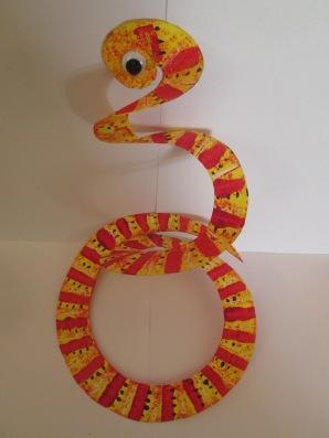 Paper snake