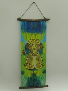 A fab Lion tapestry for your wall.