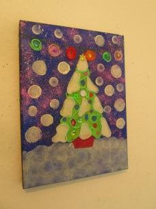 Felt Chistmas Tree Art