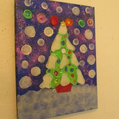 Felt Chistmas Tree Art