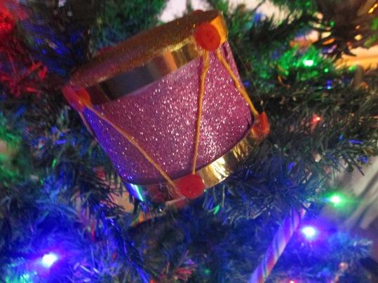 Drum Christmas decorations