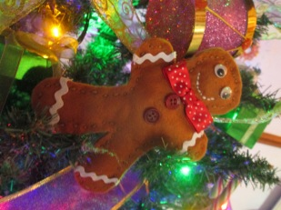 Felt Gingerbread Man