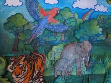 Jungle Exhibit 2017 Lincoln Library