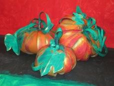 Cardboard Pumpkins