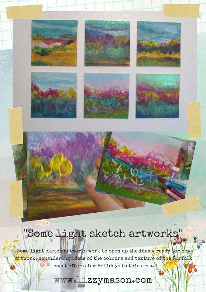 Some light sketch artworks